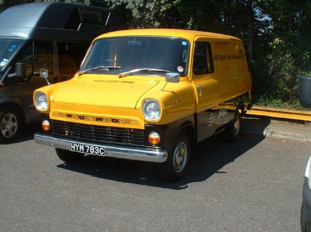 Ford Transit Van >> 1965 GEC van | Ford Transit Forum