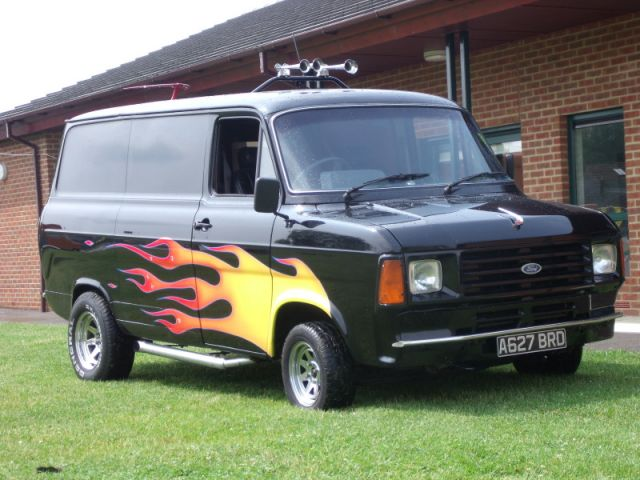 Black MK2 with flames - nuff said