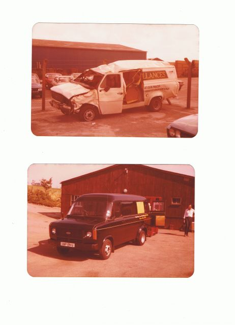 rolled mk2 and mint van