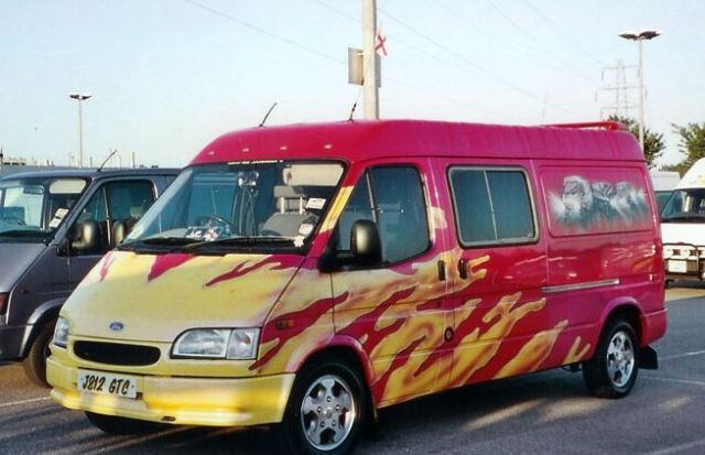 Airbrushed lwb