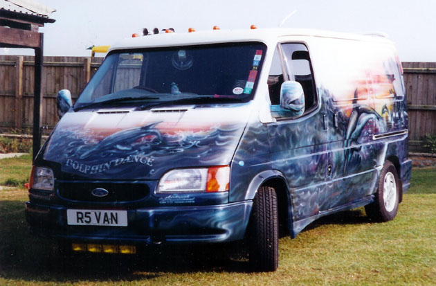 Ford Transit Custom >> Dolphin dance | Ford Transit Forum
