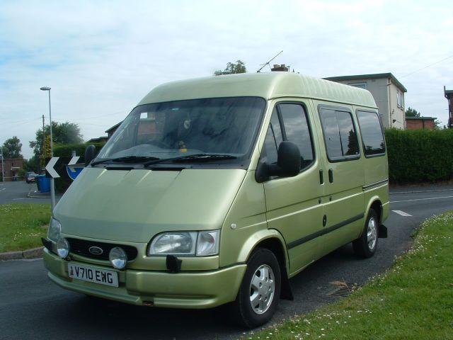 Sublime green minibus
