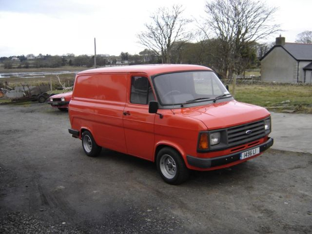Mk2 Transit On Banded Steels Ford Transit Forum