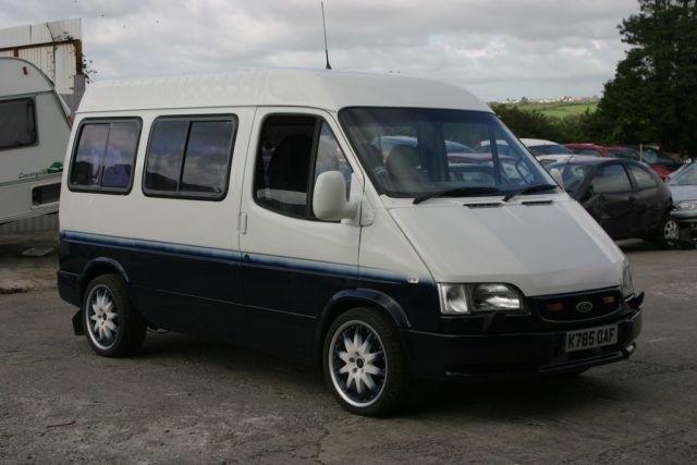 modified minibus